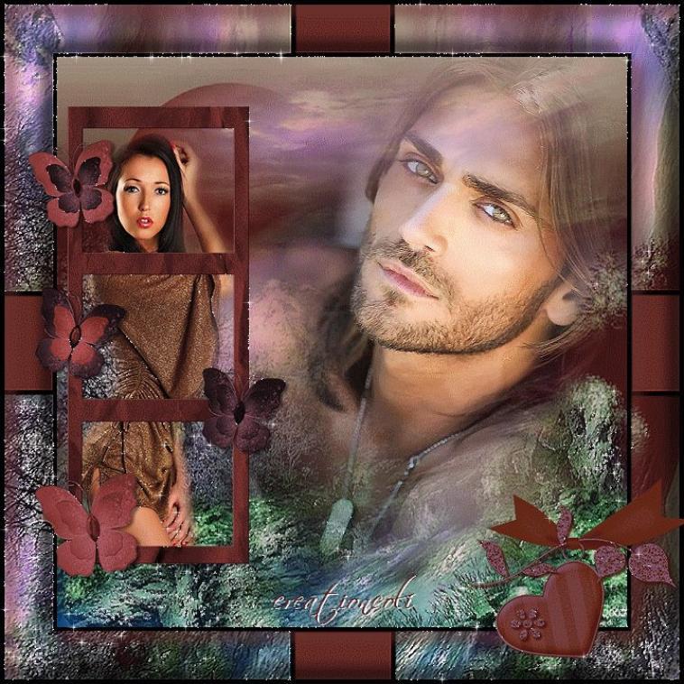 Un couple amoureux coeur amiti s amiti et partage - Un coeur amoureux ...