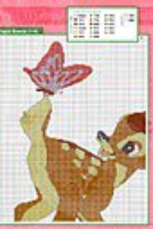 bambi fleurs et pan pan blog dorissepassions. Black Bedroom Furniture Sets. Home Design Ideas