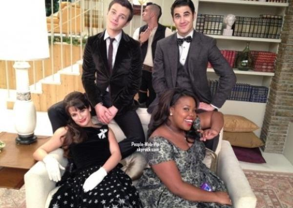 GLEE TWITPIC ! 