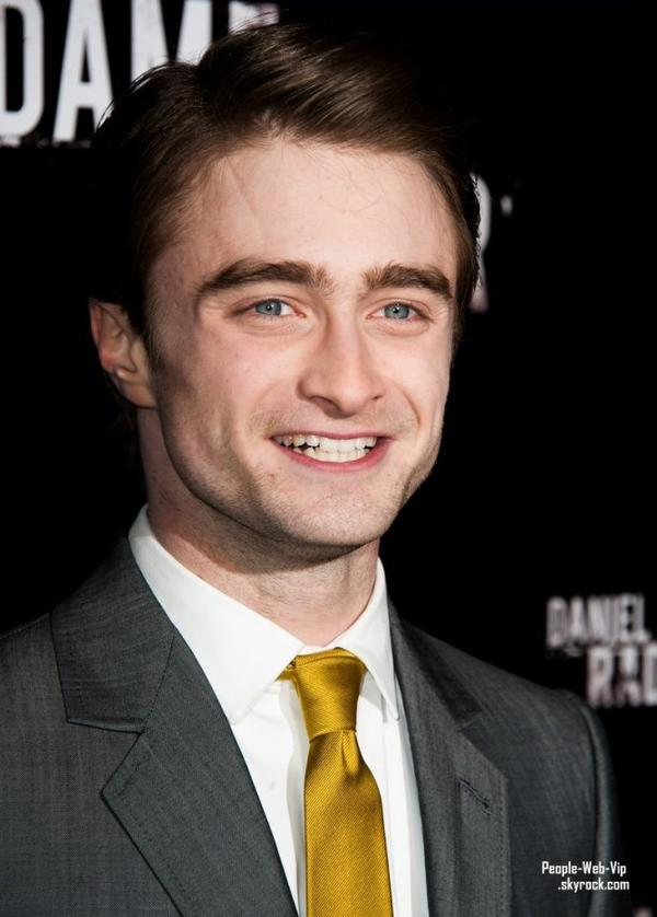 Daniel Radcliffe pour la premi�re de The Woman in Black, en France  (le mardi (F�vrier 7) � Paris, France.)
