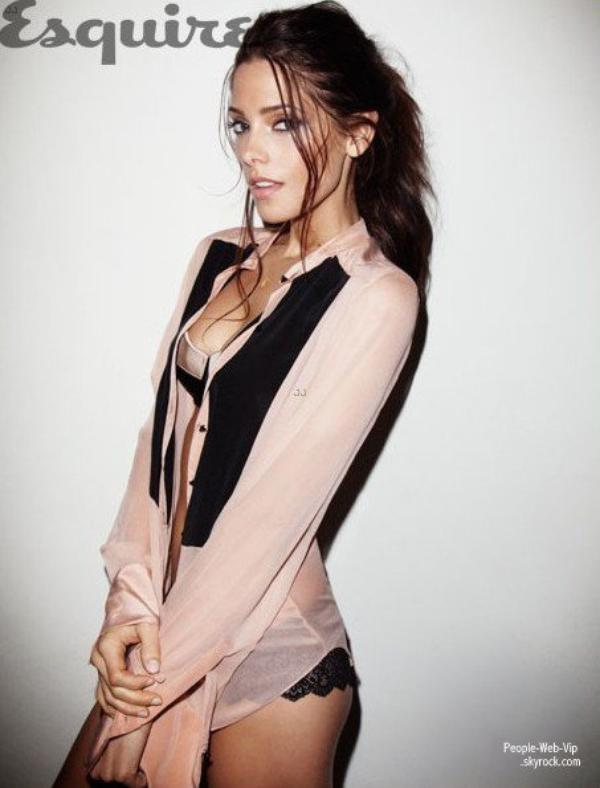  Ashley Greene trs sexy Pose pour le magazine &quot; Esquire &quot;