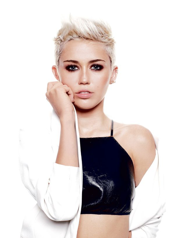  Miley Cyrus : Dcouvrez les nouvelles photos indites de son shoot pour le magazine &quot; ELLE &quot;
