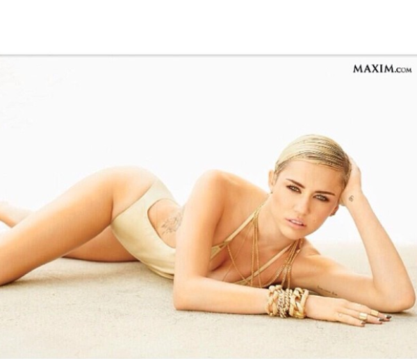  D&#8217;aprs le magazine MAXIM,  Miley Cyrus est la femme la plus HOT du top 100 !