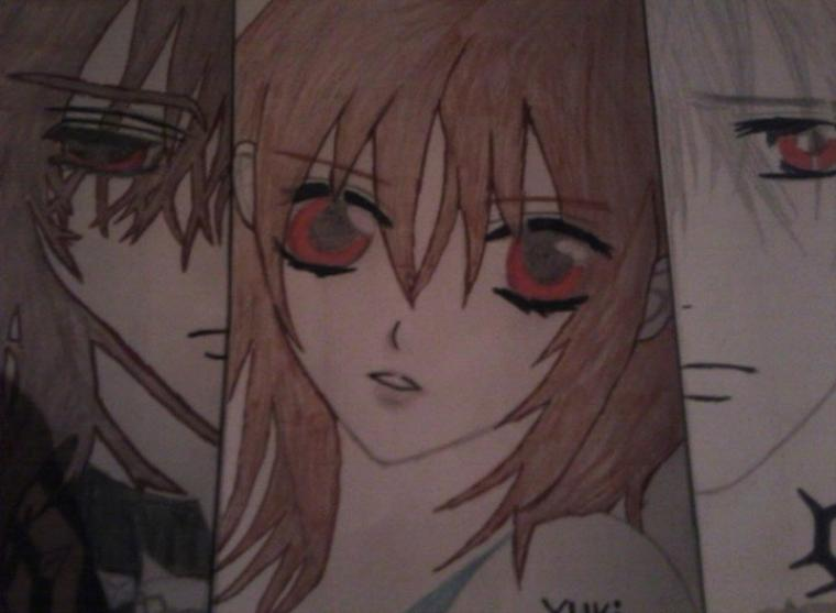Dessin:VampireKnightKaname/Yuki/Zero