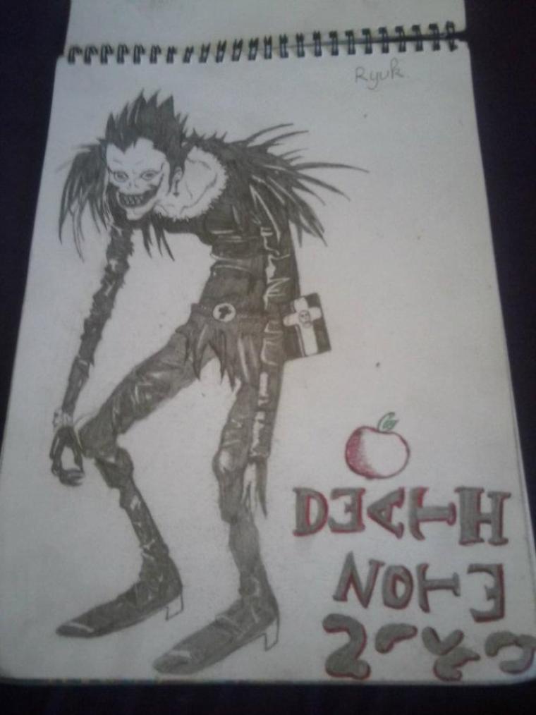 Dessin:DeathNoteRyuk