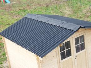 Le toit du cabanon la maison ossature bois de elo vince - Pose feutre bitume abri jardin ...